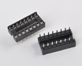 16 Pins DIP IC Solder Type Socket Adaptor