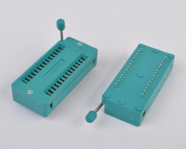 28 Pins Test Universal ZIF IC Socket