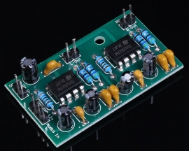 TDA2822M Single Power Dual Track BTL Power Amplifier Board Module 2W*2 DC 3-9V