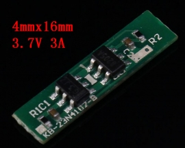 3.7V 3A Charging Protection Board Charger Module 4mmx16mm For 1S 18650 Lithium Battery