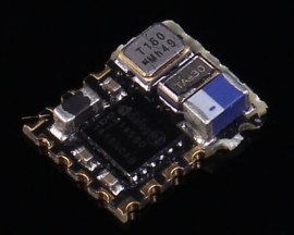 HJ-580LA Micro Wireless Bluetooth BLE Module with Antenna 0.85V-2.2V (No Code) DA14580 5*6.2mm +0dbm Support China ISM 2.4GHz