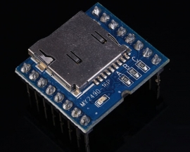 MP3 Voice Module MY2490-16 Serial Port TTL Level For Music Voice Play TF Card