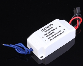 8-12W Power Supply LED Driver AC 85-265V Electronic Transformer Constant Current 300mA
