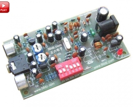 BH1417F FM Frequency Modulation Stereo Transmission Board Suite DIY Kits