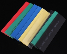 21PCS 7 Colors 12.0mm Polyolefins Assorted 2:1 Heat Shrink Tubing Kit Wrap Sleeve Kit