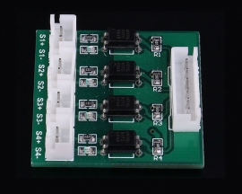 4 Channel Optocoupler Isolation Board High/Low Level Voltage Converter Module