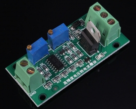 0-10V to 4-20mA Non-Isolated Voltage to Current Module Linear Output with Indicator Light