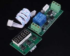 Trigger Delay Power Off Relay Module Time Adjustable 12V For Toy Cars Coin Device