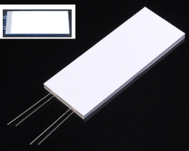 White Backlight Plug-In LED 3.0V 15mA 76.5x30.0x2.8mm For EDS815 LCD