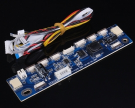 "Universal LED Step-Up Boost Board Module 6-20V 2P/6P/10P/12P Support 15-24"" LED LCD"