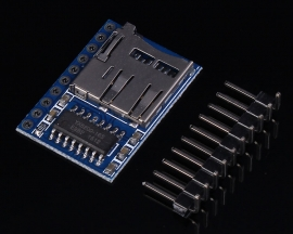 MP3-TF-10P MP3 Serial Port Module 3.3V-5V Support USB/TF Card For Electric Parts