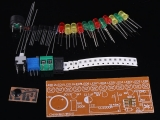 DIY Kits CD4060 SMD Music Fancy Lantern Colorful LED Lamp Suite Electronic Training