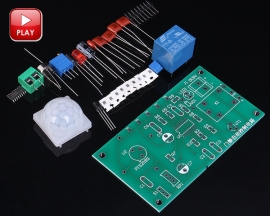 Entrance Guard Automatic Control Module Circuit Suite DIY Kits Suite Teaching Practice