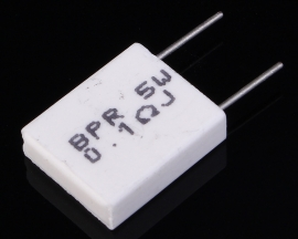 Non-inductive Cement Resistor 5W 0.1R Resistance 0.1ohm for DIY Components