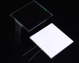 GDC1009 White Backlight LCD 12 O'clock 5.0V 56.5x70.5x2.8mm For Auto-Meter