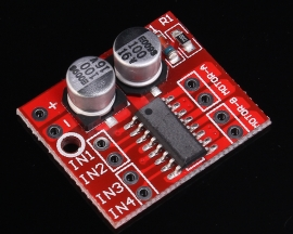 Dual Motor Driver Module PWM Speed Regulation 2-10V For Stepping Motor