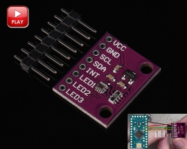 Si1145 Infrared Ultraviolet Ray UV IR Visible Sensor Module for Arduino AVR STM32