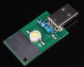 USB LED True White Lamp Module For Charger LED Lamp Illuminating System