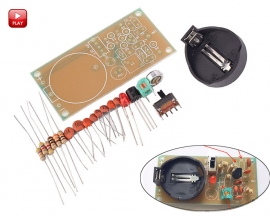 FM Wireless Microphone DIY Kits FM Radio Electronic Training Suite DIY Module DC 1.5-9V 1-6mA No Battery