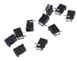 10pcs 3.5x1.2mm DC Power Jack Socket Connector Female Socket DIY Components