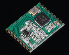 470MHz Wireless Transceiver Module FSK SPI Interface -126dBm DC 1.8-3.6V