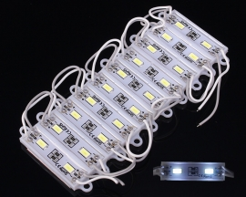 1pc 5730 SMD Pure White Waterproof Small LED Module 2Pcs LEDs 36x9mm For Lamp/Billboard