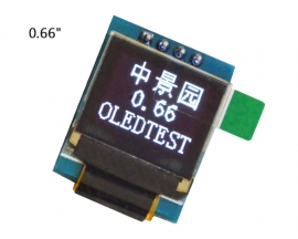 "White 0.66in OLED Display Module 64x48 0.66"" Screen IIC I2C for Arduino AVR STM32"