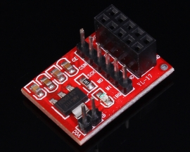 Adapter Board Pinboard Converter 3.3V For 10-Pin NRF24L01 Wireless Module