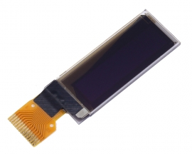 "0.91"" 0.91in Blue OLED Display Module 128x32 SSD1306"