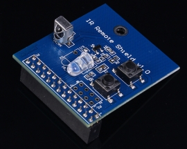 38KHz Infrared Control Transmitting Receiving Shield For Raspberry Pi