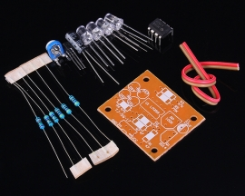 LM358 Breathing Light Suite Electronic Components DC 9V DIY Kits
