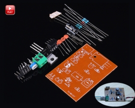 NE555 Pulse Width Modulator Speed Regulator Controller Suite Electronic Parts DIY Kits Module