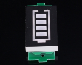 3S Lithium Battery Pack Electricity Quantity Display Board Green Display 12.6V