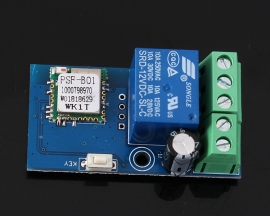 WiFi Self-Locking/Inching Relay Delay Switch Module Low Power Smart Home Remote Control Compatible with iOS Andriod 2G/3G/4G Network