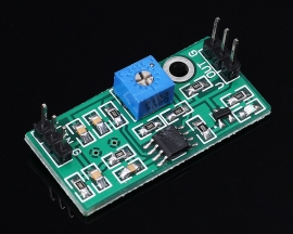 LM393 Comparator Module Voltage Comparator Module High Level Output 3.5-24V With LED Lamp