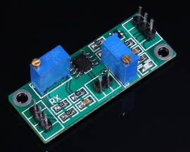 LM358 DC Amplifier Module 1-100 Times Adjustable Analog On-Off Double Output 4.5-28V