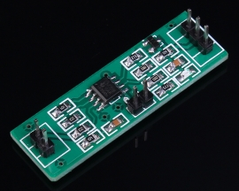 LM358 Weak Signal Collection Amplifier Module DC Amp Double Output 100 Times