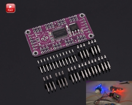TLC5947 12-Bit 24-Channel PWM LED Driver Module with Internal Oscillator 3-5.5V