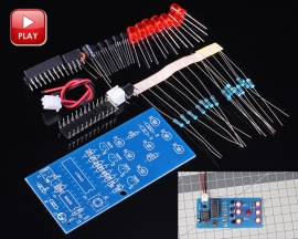 7 LEDs Flash Light Lamp Electronic Dice Suite 4.5-6V DIY Kits Module for Electronic Training
