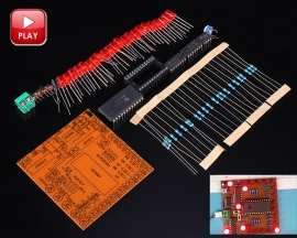 Horse Race Lamp Red LED Suite DIY Kits for Teaching Experiment DIY Kits