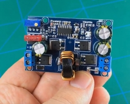 DC to DC Automatic Step Up Step Down Boost Buck Converter Power Supply Module Voltage Regulator Module 5-32V to 1.25-20V 5A