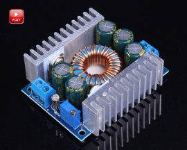 DC to DC High Power Step Down Buck Converter Adjustable Power Supply Module 12A DC 5-40V to DC 1.2-36V