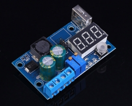 DC-DC Step-Down Buck Constant Voltage Current Module with Digital Display 4-40V To 1.2-38V