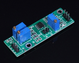 LM358 Weak Signal Differential Amplifier Module Analog And Digital Output Adjustable DC 4-28V