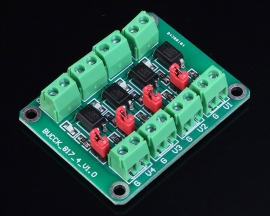 PC817 4-Channel Optocoupler Isolation Opto Isolator Module Voltage Converter Module 3.6-30V