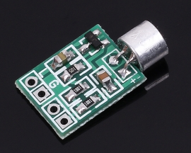 Mini Microphone Audio Amplifier Stereo Sound Module DC 2.5-9V 14x12mm