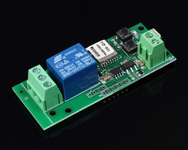 Single Channel Inching Self-Lock Wifi Relay Module 5V for Cellphone Control
