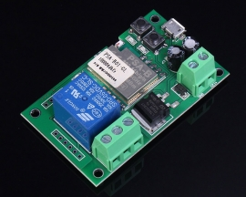 Single Channel Inching Self-Lock Wifi Relay Module 12V For Door Control System