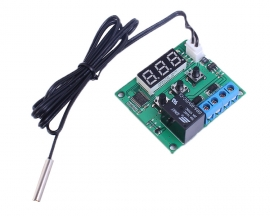 Digital Temperature Controller 5V Red LED Display w/ NTC Waterproof Temperature Sensor