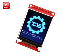 ILI9225 2.0 Inch SPI Serial Port TFT LCD Display Module SPI Interface 176x220 4 IO Support 3.3V 5V Power Supply